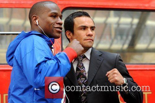 Floyd Mayweather Jr. and Juan Manuel Marquez 2