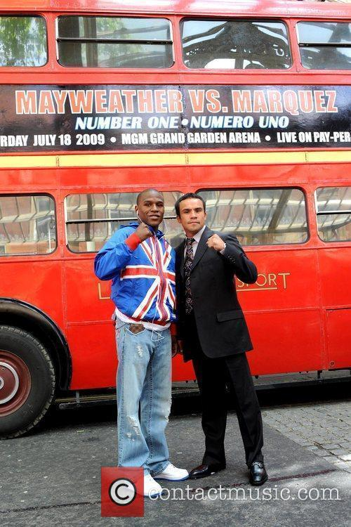 Floyd Mayweather Jr. and Juan Manuel Marquez 8