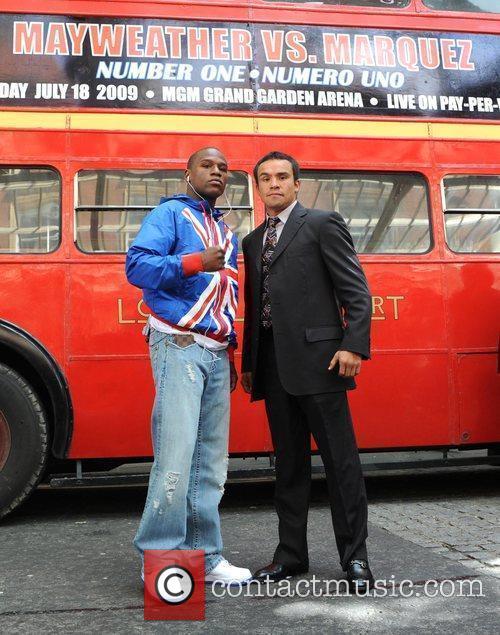 Floyd Mayweather Jr. and Juan Manuel Marquez 8