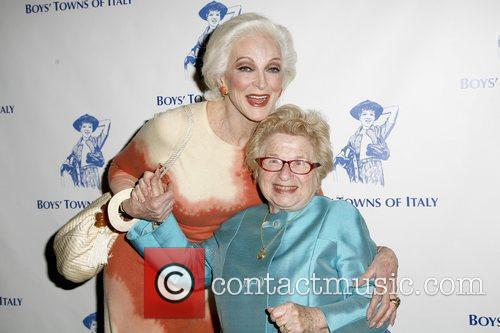 Carmen Dell'Orefice and Dr. Ruth Westheimer 46th Annual...