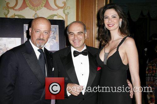 Domenico Vacca, Guest and Luciana Jimenez 46th Annual...