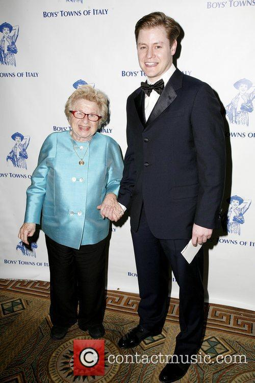 Dr. Ruth Westheimer and Guest 46th Annual Boys'...