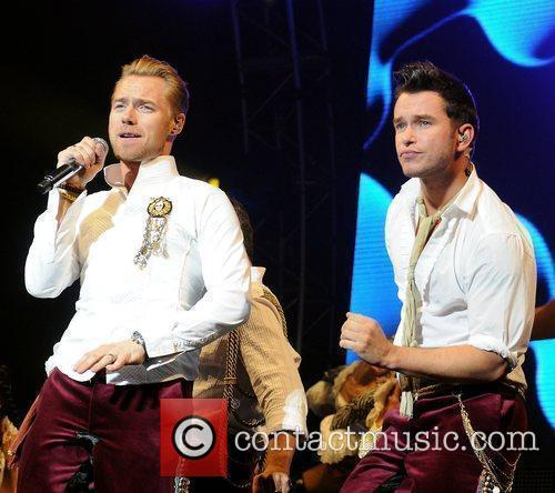 Stephen Gately and Ronan Keating