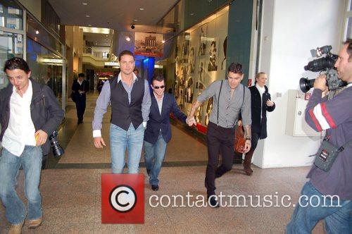 Keith Duffy, Boyzone, Duffy, Shane Lynch and Stephen Gately