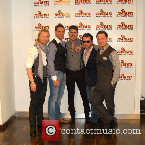 Boyzone, Duffy, Keith Duffy, Shane Lynch and Stephen Gately 3