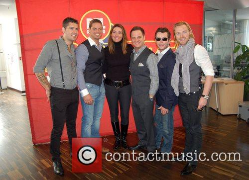 Shane Lynch, Boyzone, Duffy, Keith Duffy and Stephen Gately 3