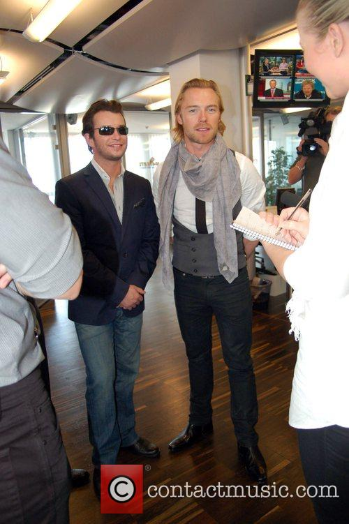 Stephen Gately, Boyzone and Ronan Keating 3