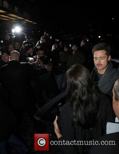 Brad Pitt and Angelina Jolie 11