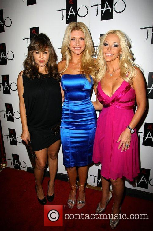 Playmate Brande Roderick and guests celebrates the season...