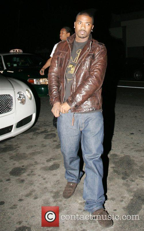 Ray J Norwood leaving his sister Brandy's birthday...
