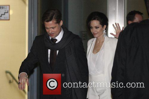 Brad Pitt and Angelina Jolie 3