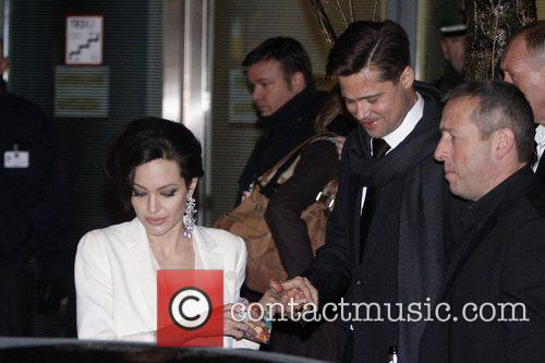 Brad Pitt and Angelina Jolie 7