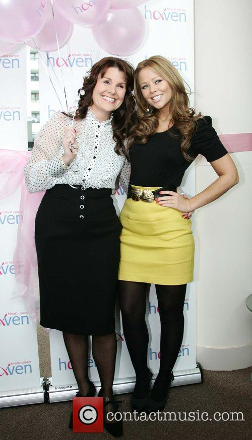 Kimberly Walsh opens the Leeds Breast Cancer Haven...