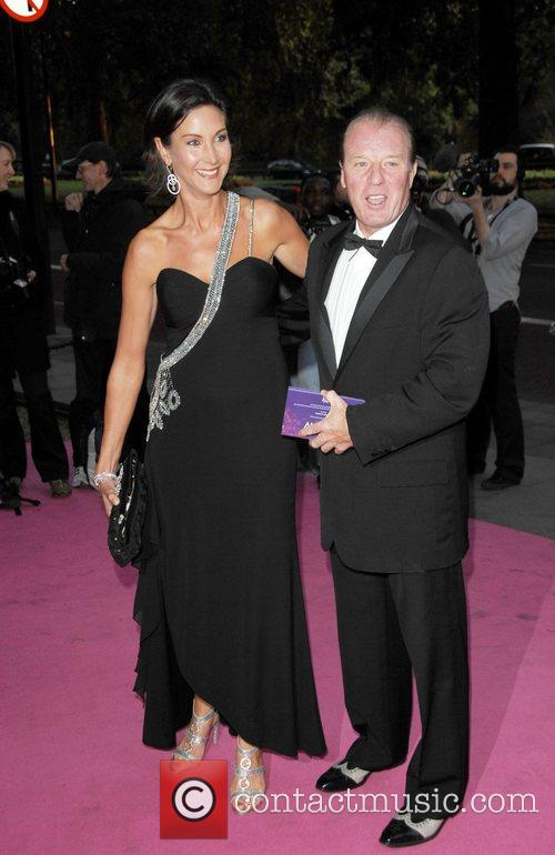 Alan Curbishly and wife Breast Cancer Care's annual...