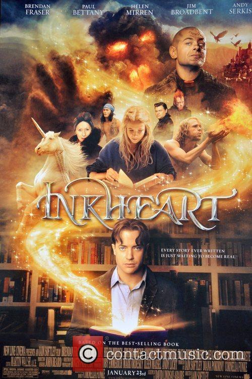 Atmosphere Brendan Fraser and 'Inkheart' author Cornelia Funke...
