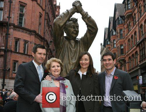 Brian Clough is remembered in his adopted city...