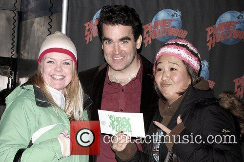 Brian D'arcy James, Planet Hollywood and Times Square 5