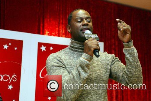 Brian McKnight performing songs from his new Christmas...