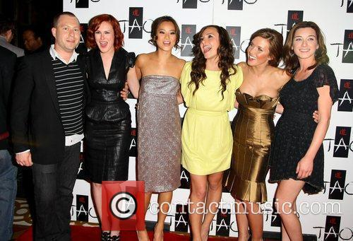 Rumer Willis, Jamie Chung, Briana Evigan, Audina Patridge and Margo Harshman With Guest 3