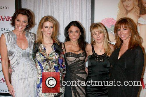 Countess Luann Delesseps, Bethney Frankel, Ramona Singer, Jill...