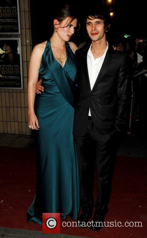 Hayley Atwell and Matthew Goode Premiere of 'Brideshead...