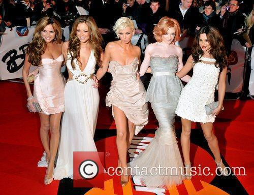 Girls Aloud The 2009 Brit Awards held at...