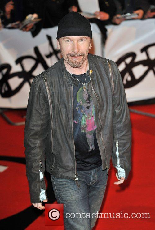The Edge The 2009 Brit Awards held at...