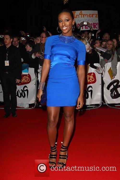 Alexandra Burke The 2009 Brit Awards held at...