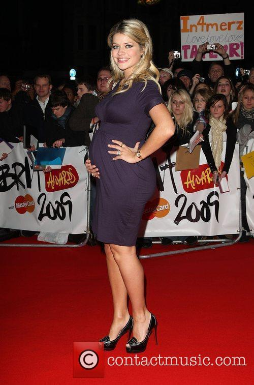 Holly Willoughby The 2009 Brit Awards held at...