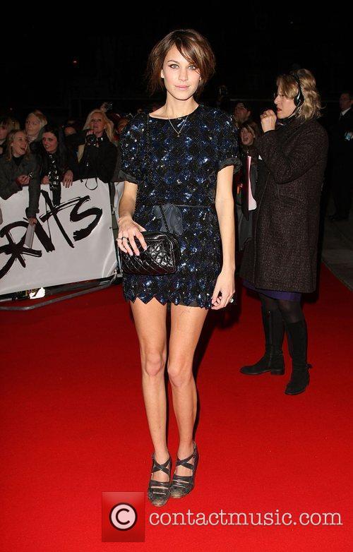 Alexa Chung The 2009 BRIT Awards - Red...