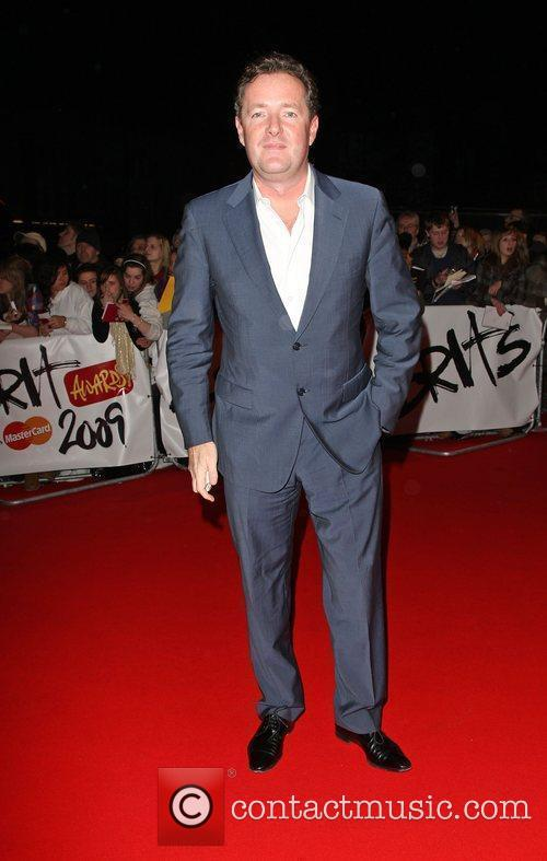 Piers Morgan The 2009 BRIT Awards - Red...