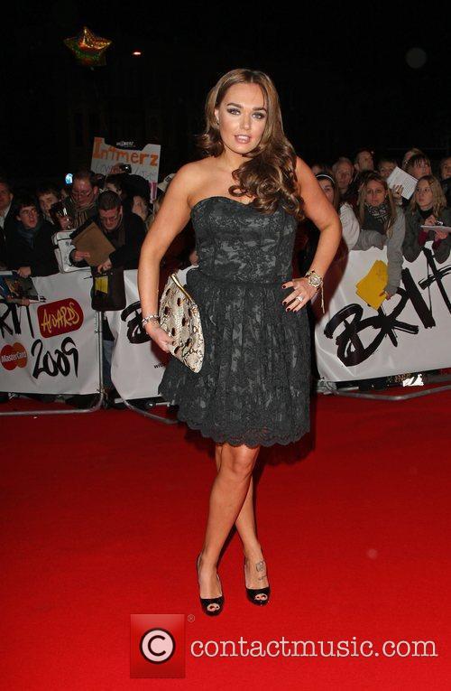 Tamara Ecclestone The 2009 BRIT Awards - Red...