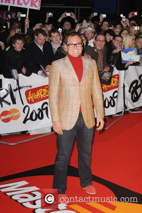 Alan Carr The 2009 BRIT Awards - Red...