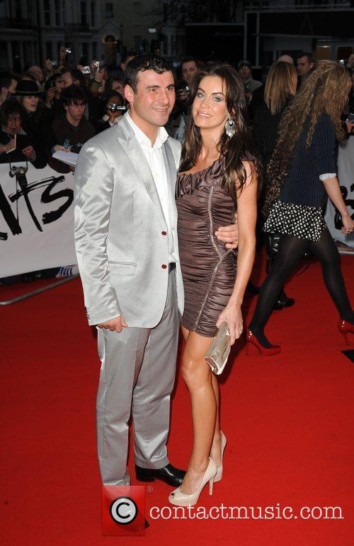 Joe Calzaghe and Guest The 2009 BRIT Awards...