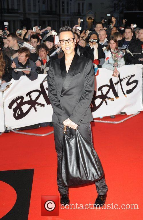 Gok Wan The 2009 BRIT Awards - Red...