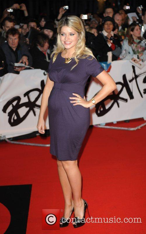 Holly Willoughby The 2009 BRIT Awards - Red...