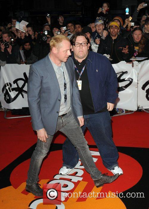 Simon Pegg and Nick Frost The 2009 BRIT...