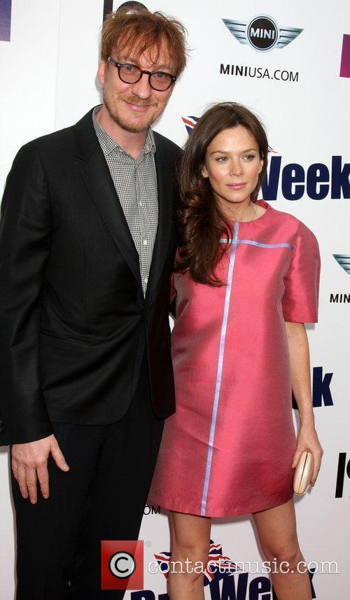David Thewlis and Anna Friel