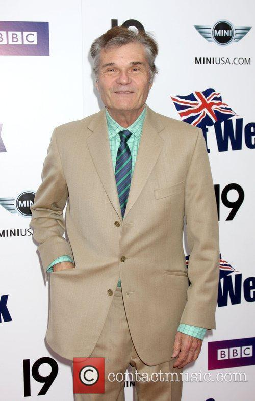 Fred Willard Champagne Launch of BritWeek 2009 at...