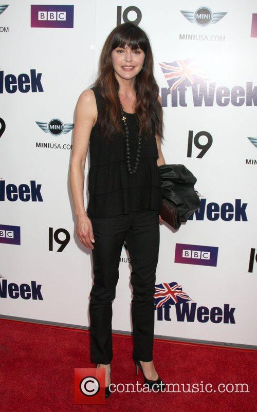 Jane Leeves Champagne Launch of BritWeek 2009 at...