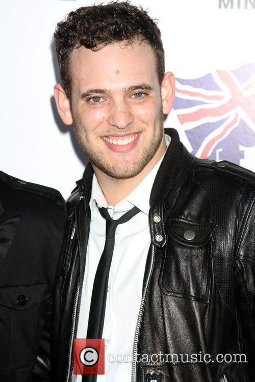 Matt Giraud  Champagne Launch of BritWeek 2009...