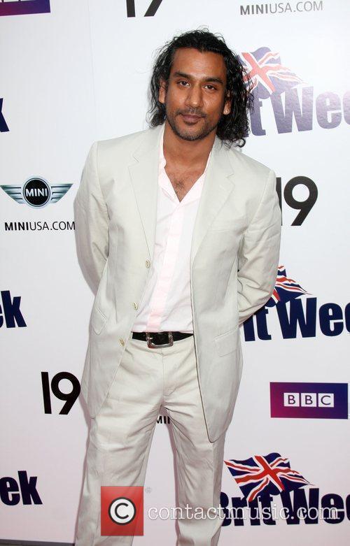 Naveen Andrews  Champagne Launch of BritWeek 2009...