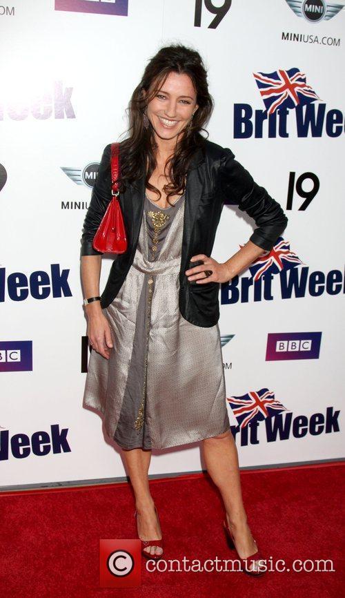 Orla Brady Champagne Launch of BritWeek 2009 at...