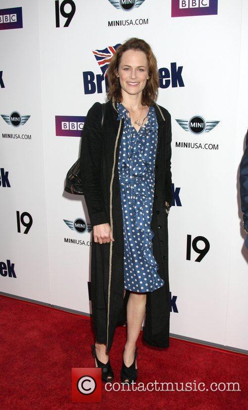 Sarah Clarke  Champagne Launch of BritWeek 2009...