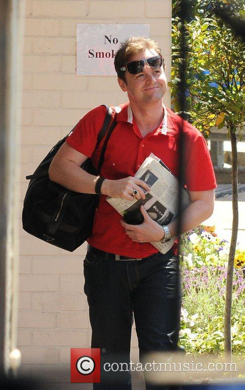 Declan Donnelly aka Ant and Dec arrives at...