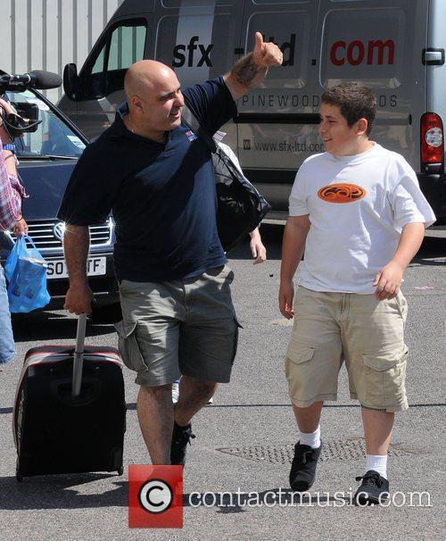 Dimitri and Lagi of Stavros Flatley arrive at...