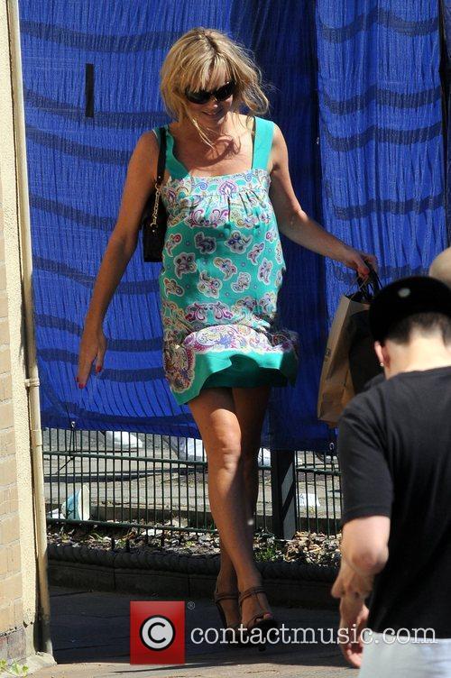 Amanda Holden arrives at the 'Britain's Got Talent'...