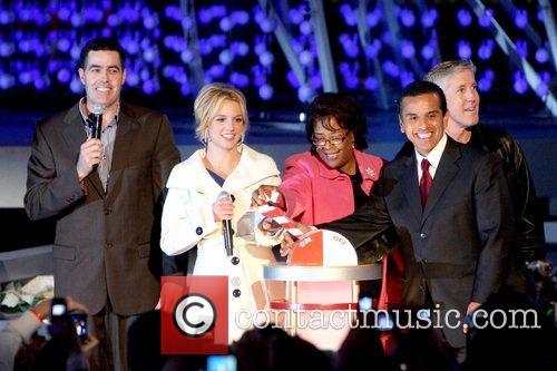 Adam Carolla, Britney Spears, Jan Perry and Mayor...