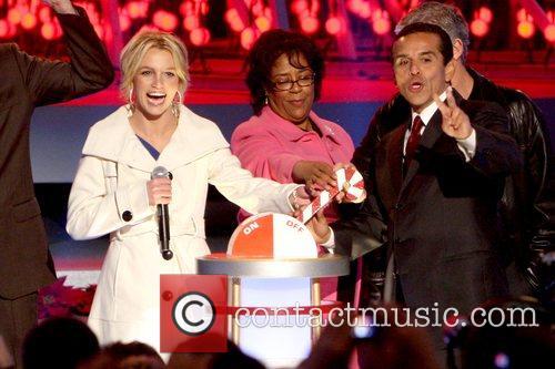 Britney Spears, Jan Perry and Mayor Antonio Villaraigosa...
