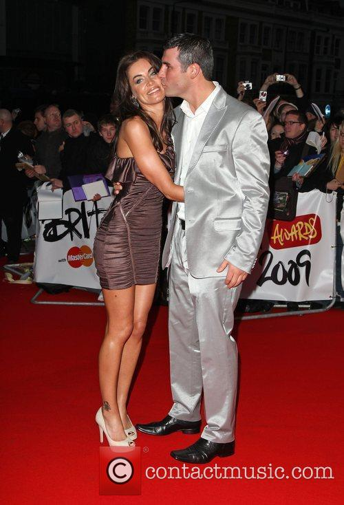 Joe Calzaghe and Jo-Emma Lavin The 2009 BRIT...